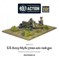 US Army 37mm Anti-Tank Team