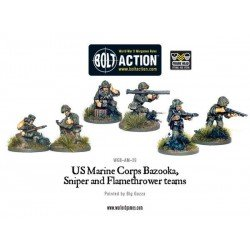 USMC Bazooka, Sniper & Flame Thrower Teams
