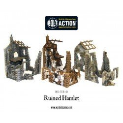 Ruined Hamlet (3x buildings)