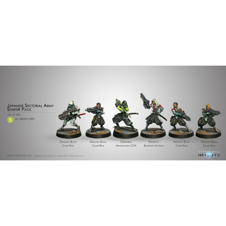 Japanese Sectorial Army (Yu Jing Sectorial Starter Pack)