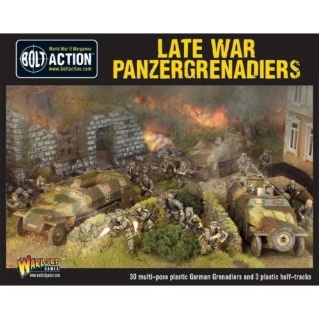 Late War Panzergrenadiers (30+ 3 Hanomags)