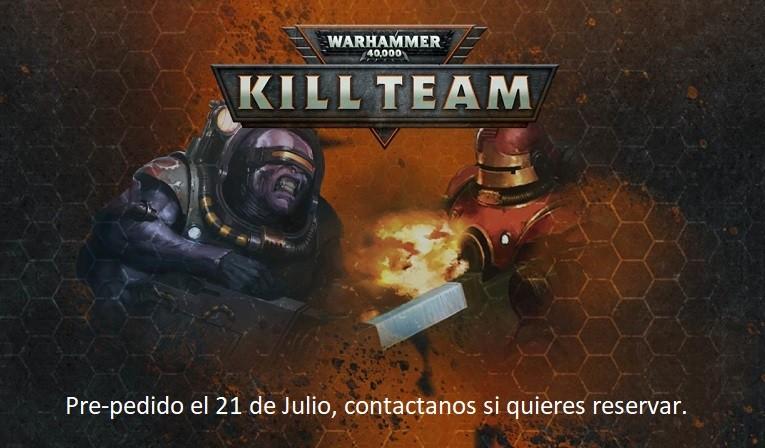 Kill Team el juego de escaramuzas de Warhammer 40000